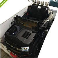 Детский двухместный электромобиль M 3579EBLR-2 черный