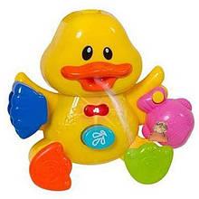 Игрушка для ванной Утенок фонтан