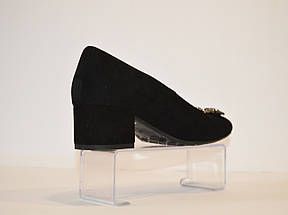 Туфли женские на невысоком каблуке Grodecki, фото 3