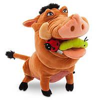 """Мягкая игрушка кабанчик Пумба """"Король лев"""" Lion king 32 см Дисней Disney 1231047440761P"""
