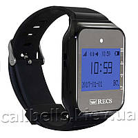 Пейджеры-часы официанта  R-02 Black Watch Pager