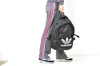 Рюкзак черный, спортивный Adidas, Адидас, Р1143