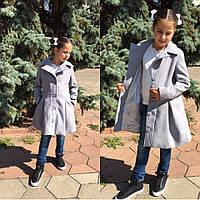 Детское пальто на пуговицах осень 2017!! разные цвета.