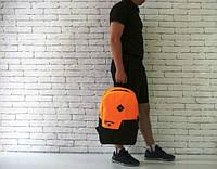 Рюкзак оранжевый, качественный Конверс, Converse, Р1247