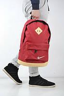 Рюкзак спортивный,красный, сумка Nike, Найк, Р1300