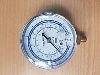 Манометр. VALUE АBL низкого давления . Синий . R 134 Диаметр 68 мм