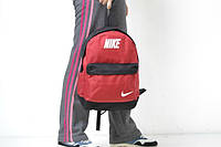 Сумка, рюкзак красно-черный Nike, Найк, Р1333
