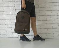 Рюкзак коричневый Nike, Найк, Р1388