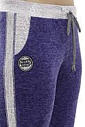 Женский спортивный костюм больших размеров, электрик звезды размер 52-58, фото 5
