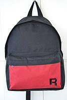 Рюкзак красный, черно-красный Рибок, Reebok, Р1467