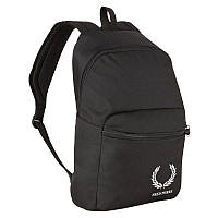 Рюкзак черный с синими полосками Fred perry  Р11391