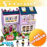 """Конструктор лего френдс Bela Friends 10541 """"Дом Эммы"""" (Аналог LEGO Friends 41095), 731 дет"""