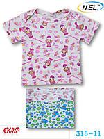 Детская футболка из кулира