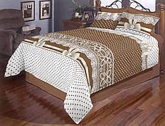 Бант полуторное постельное белье Gold