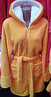 Махровый халат женский 44-52 , доставка по Украине