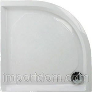 Душовий піддон із литого каменю PAA Classic RO 100x100