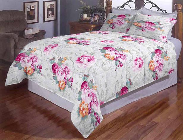 Пион полуторное постельное белье Gold, фото 2