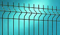 Забор из сварной сетки с услугами монтажа для дачи и дома  3/4 2,5 х 2,2м.