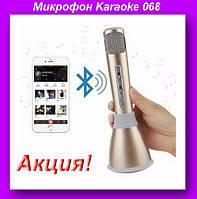 Микрофон Karaoke 068,MICROPHONE 068-МИКРОФОН,Микрофон!Акция