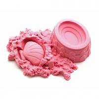 Кинетический песок розовый 1кг