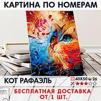 "Картина по номерам ""Кот Рафаэль"" 40х50 см"