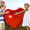 Modarina Фольгированное большое сердце 75см