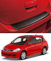Накладка заднего бампера Nissan Tiida 5 Door 2004-2012, original # 999T6-4T000