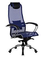 Кресло Samurai S1 blue