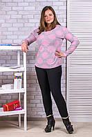 Женские штаны на флисе Ласточка А523-11 4XL черный