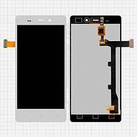 Дисплей (экран) для Fly iQ453 Quad Luminor FHD/BLU L240A/L240I + с сенсором (тачскрином) белый Оригинал
