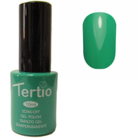 Гель-лак №027 (темный зеленый чай) 10 мл Tertio