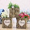 Цветочники, кашпо для цветов, горшки для цветов…, Корзины ,плетенные из лозы.