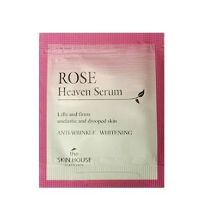 Сыворотка омолаживающая с экстрактом розы The Skin House Rose Heaven Serum Пробник
