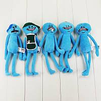 Мягкие игрушки Рик и Морти счастливы и грустно