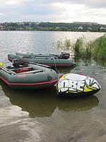 Обкатка надувных лодок Vulkan.