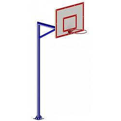 Баскетбольная Cтойка Школьная Одинарная