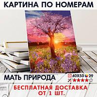 "Картина по номерам ""Мать природа"" 40х50 см"