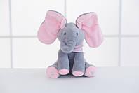 Плюшевый Слон музыкальный