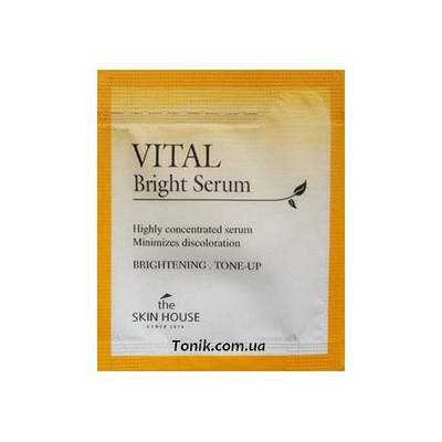 Серум осветляющий The Skin House VIital Bright Serum Пробник