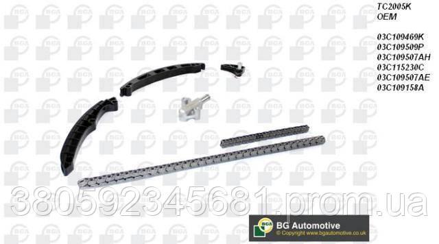 Комплект цепи ГРМ Golf V 1.4/1.6 FSI/Passat/Octavia 1.6 FSI 03- (без шестерен)