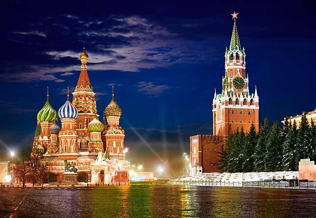 Пазлы Castorland Красная площадь в Москве С-101788 , 1000 элементов