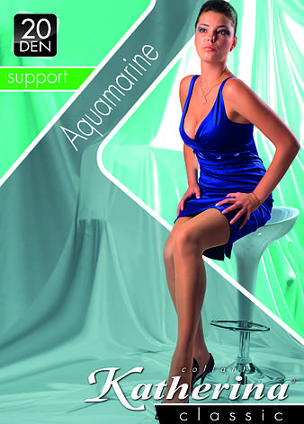 Колготки женские / жіночі Aquamarine 20 den (3214) TM KATHERINA, фото 2
