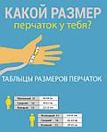 Как узнать свой размер руки при покупке перчаток.
