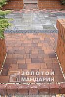 """Тротуарная плитка """"Плац"""" 6 см, сиена"""