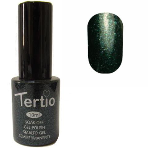 Гель-лак №053 (зеленый с микроблеском) 10 мл Tertio