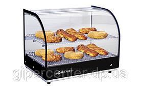 Тепловая настольная витрина Hendi 273999 (до 85°C, 554x376x432 мм, 2 полки-решетки)