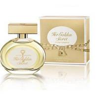 Antonio Banderas Her Golden Secret женская туалетная вода  80 ml Оригинал! NNR ORGIN/5-61