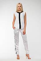 Стильные штаны ~АТЛАС~ белый, фото 1