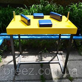 Стол для армрестлинга Троян желтый