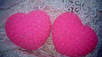 """Сувенирное мыло ручной работы """"Сердце из роз"""""""